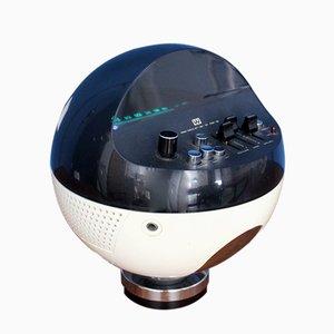 Radio sferica modello 2002 di Weltron, anni '70