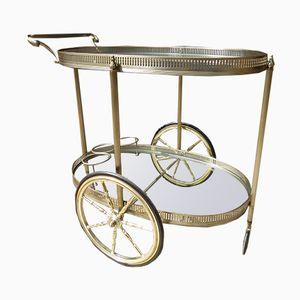 Vintage Serving Cart on Wheels
