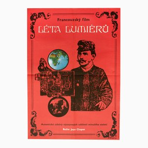 Les Années Lumiere Movie Poster by Vladimír Václav Paleček, 1973