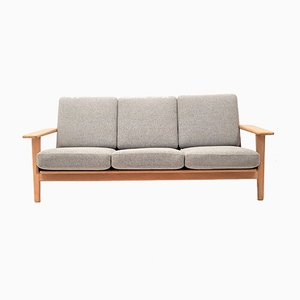 Mid-Century GE290 Eiche Sofa von Hans J. Wegner für Getama