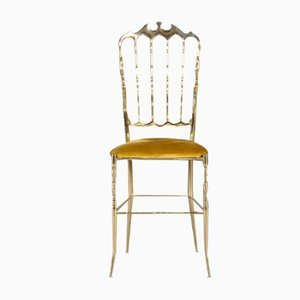 Chiavari Messing Ballroom Chair von Giuseppe Gaetano Descalzi, 1960er