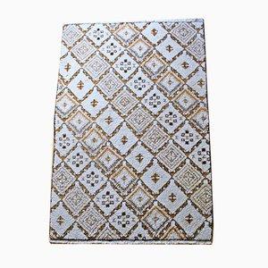 Marokkanischer Rabat Wollteppich, 1970er