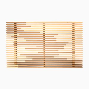 Plateau Sami_Wave L en Cyprès Hinoki par Marta Laudani pour Hands On Design