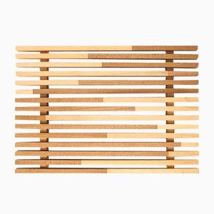 Plateau Sami_Wave S en Cyprès Hinoki par Marta Laudani pour Hands On Design