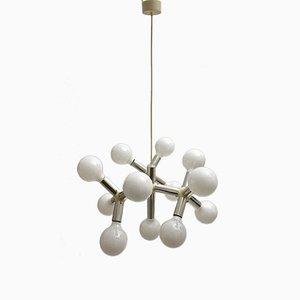 Atomic Chandelier by Robert Haussmann for Swiss Lamp International, 1960s