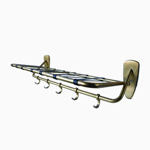 Vintage Gold Lacquered Coat Rack, 1970s