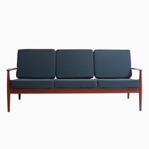 Vintage Danish Model 118 Sofa by Grete Jalk for France and Søn