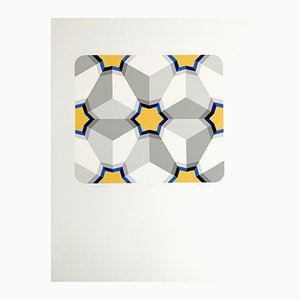 Hexagon II Serigraph by Marko Spalatin, 1984