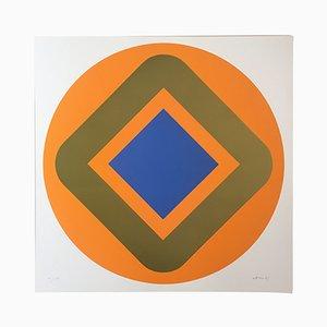 Silkscreen by Winfred Gaul, 1968