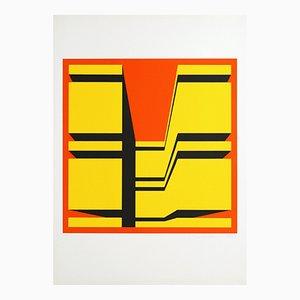 Siebdruck von Guy Baekelmans, 1970er
