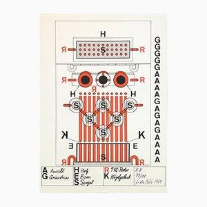 Serigraph by Guido Jendrytzko, 1969