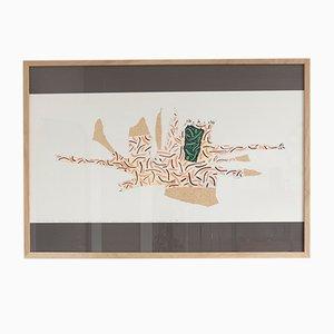 Imprimé Theoretical Reconstruction of an Imaginary Object par Bruno Munari pour Danese, 1988