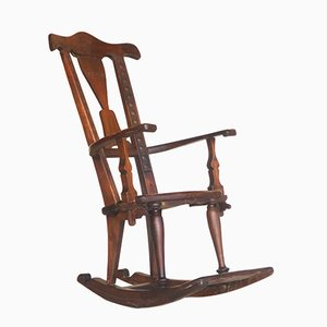 Antique Secessionist Rocking Chair