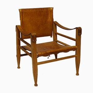 KK47000 Safari Chairs by Kaare Klint for Aage Bruun & Son, 1960s, Set of 2
