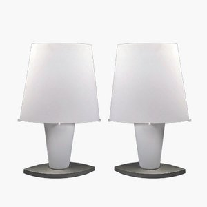 Large Table Lamps by Daniela Puppa for Fontana Arte, 1990s, Set of 2