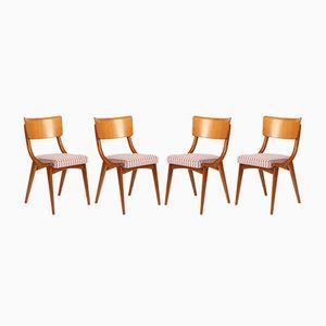 Ben Esszimmerstühle, 1970er, 4er Set