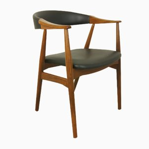 Mid-Century Danish Model 213 Side Chair by T. Harlev for Farstrup, 1950s