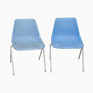 Mid-Century Polyprop Stühle von Robin & Lucienne Day für Hille, 2er Set