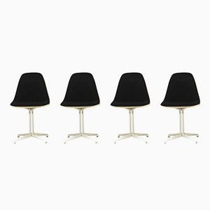 Vintage La Fonda Chairs by Charles & Ray Eames for Herman Miller, Set of 4