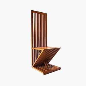 Triclinia Side Chair by Masao Noguchi for Meccani Arredamenti, 1988