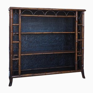 Late Victorian Bamboo Bookcase