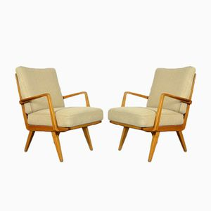 Antimott Lounge Chairs by Walter Knoll, 1950s, Set of 2