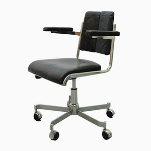 Vintage D12 Swivel Desk Chair by Jean Prouve for Tecta D12