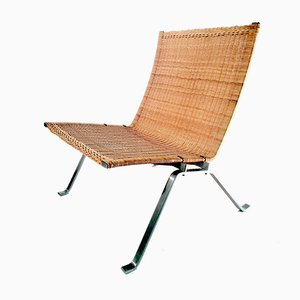 PK-22 Lounge Chair by Poul Kjærholm for Fritz Hansen, 1987