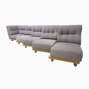 Vintage Modular Sofa by Guillerme et Chambron for Votre Maison