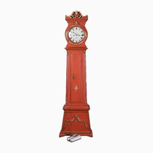 Antique Grandfather Clock par Mogens Peter Westh pour Bornholm, 1875