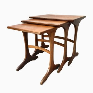 Vintage Teak Nesting Tables from G-Plan