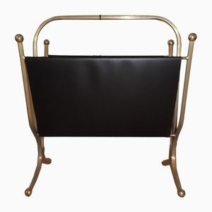 Vintage French Magazine Rack