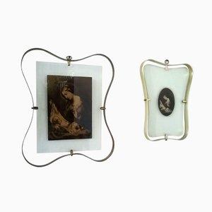 Icônes Religieux Encadrés de Fontana Arte, Set de 2