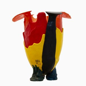 Italienische Harz Vase von Gaetano Pesce für Fish Design, 1990er