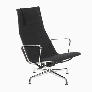 Mid-Century EA124 Lounge Chair by Charles & Ray Eames for Vitra