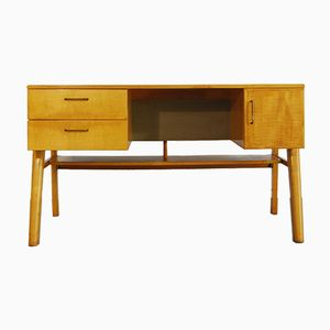 Vintage Dutch Birch Desk, 1970s