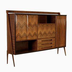 Vintage Italian Rosewood Veneer Cabinet