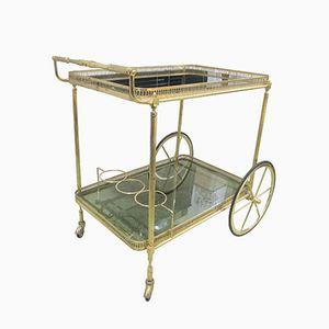 Französischer Mid-Century Barwagen