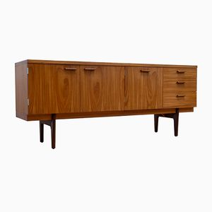 Teak Sideboard with Dry Bar by Gunther Hoffstead for Uniflex, 1960s