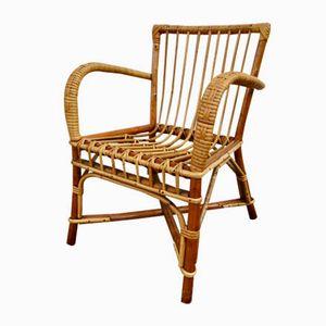 Rattan Children's Chair, 1950s