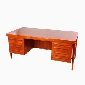 Danish Desk by Ib Kofod Larsen for Faarup, 1960s