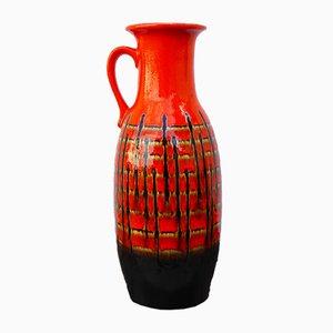 Vase Fat Lava de Jasba, Allemagne de l'Ouest, 1960s