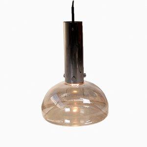 Large Pendant Lamp from Glashütte Limburg, 1960s