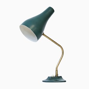 Messing & Metall Tischlampe von ASEA, 1950er