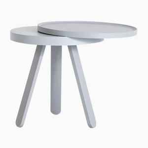 Petite Table Plateau Batea Grise par Daniel García Sánchez pour WOODENDOT