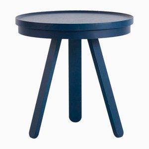 Kleiner blauer Batea Tablett Tisch von Daniel García Sánchez für WOODENDOT