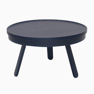 Table Basse Batea Medium Bleue avec plateau de rangement par Daniel García Sánchez pour WOODENDOT