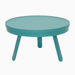 Table Basse Batea Medium Verte avec plateau de rangement par Daniel García Sánchez pour WOODENDOT