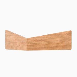 Small Oak Pelican Shelf with Hidden Hooks by Daniel García Sánchez for WOODENDOT