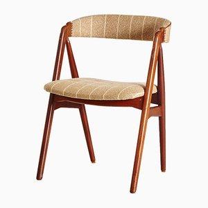 Dänischer Beistellstuhl mit Palisander Rahmen, 1960er